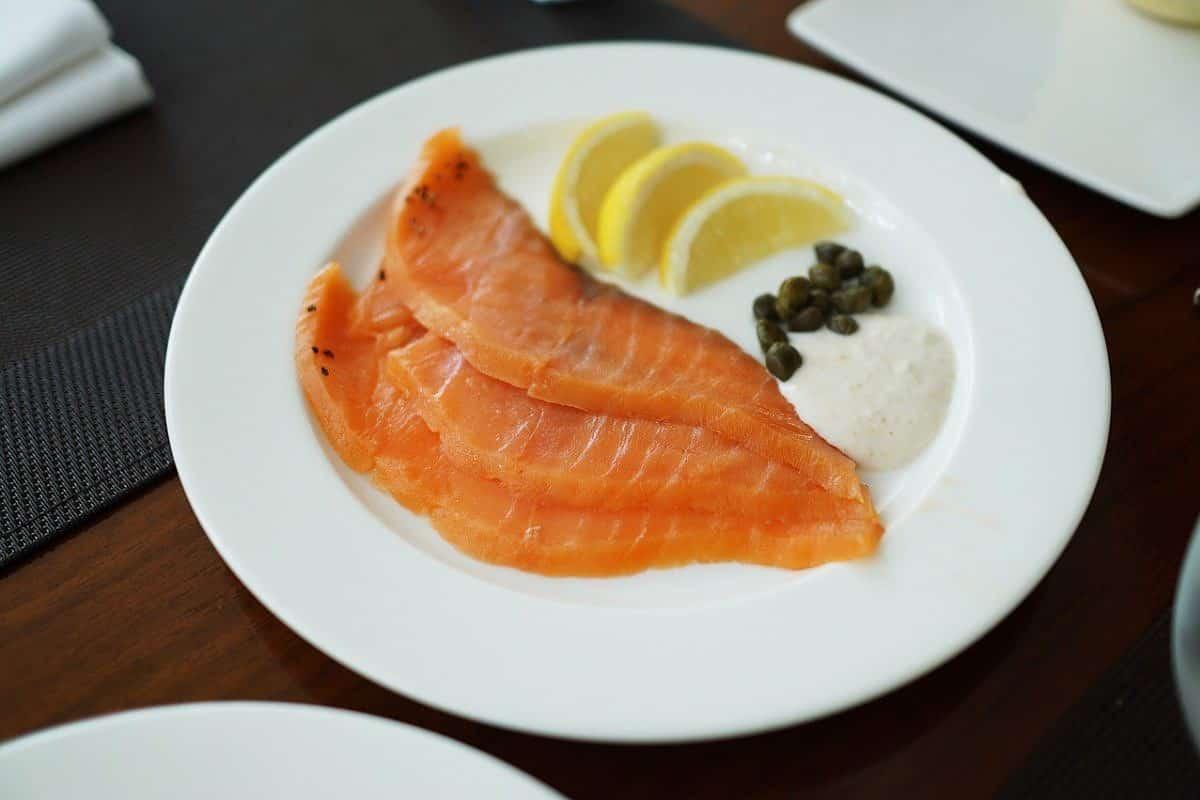 Recette mille-feuilles saumon fumé et fromage frais