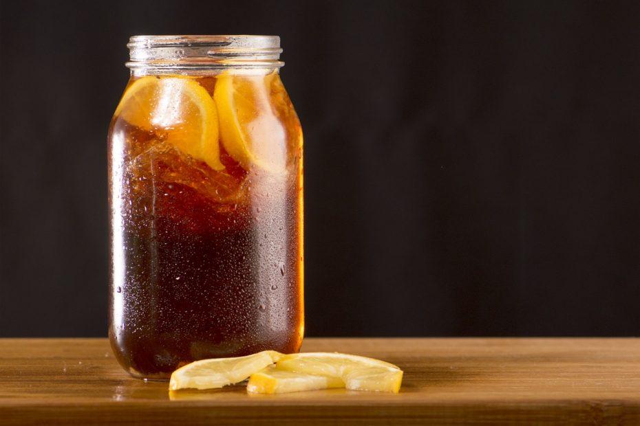 Recette boisson drainante thé vert et citron