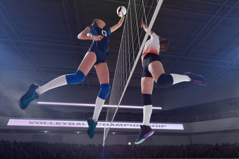 Volley : protégez vos genoux