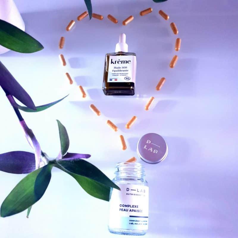 Huile SOS équilibrante + Complexe peau apaisée, le duo choc qui prend soin des peaux fragiles